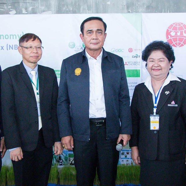 """GGC ร่วมต้อนรับนายกรัฐมนตรีระหว่าง ครม.สัญจรชูความพร้อม """"นครสวรรค์ไบโอคอมเพล็กซ์"""" หรือ NBC ร่วมกับกลุ่มเกษตรไทยฯ"""