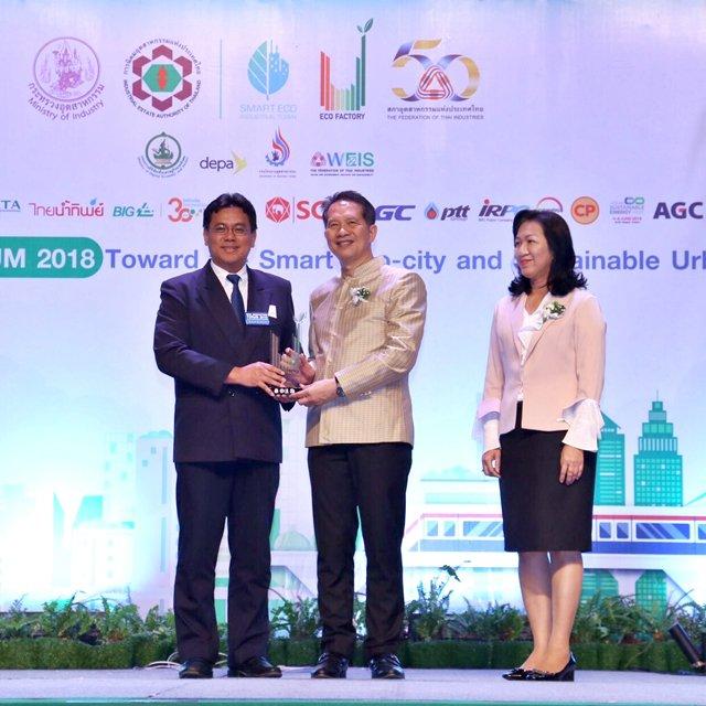 GGC รับรางวัล ECO Factory ประจำปี 2561 ย้ำการเป็นโรงงานอุตสาหกรรมสีเขียว เป็นหนึ่งเดียวกับสิ่งแวดล้อม