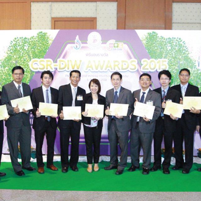TOL รับรางวัล CSR-DIW CONTINUOUS AWARD ประจำปี 2558 ยึดมั่นการดำเนินธุรกิจด้วยความรับผิดชอบต่อสังคม