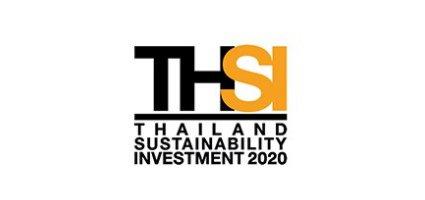 รางวัลหุ้นยั่งยืน Thailand Sustainability Investment 2563 (THSI)